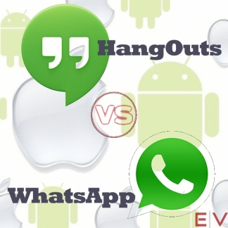 Hagouts Vs Whatsapp